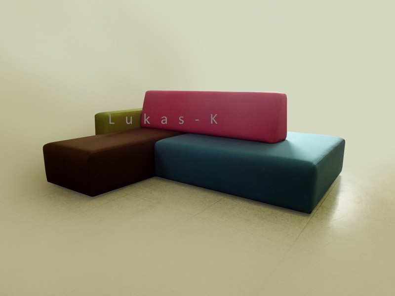 Kinder mini-Ecksofa